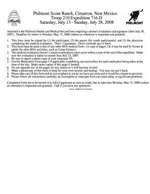 Fillable Online Philmont Medical Form Instructions.pdf - bsa troop ...