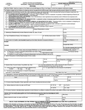 how to fill out nlrb 502 rd form