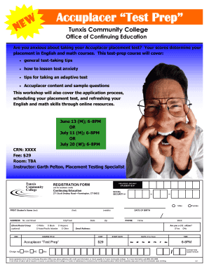 Printable college assessment practice test free Forms and Document