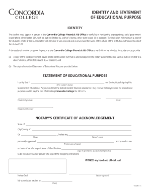 Affidavit of truth identity fill print download online resume identity and statement of educational purpose concordia college yelopaper Gallery