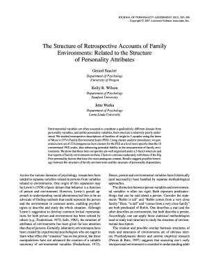 journal of personality assessment pdf