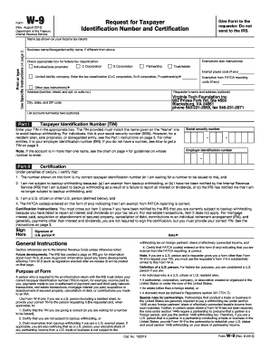 Fillable Online Virginia Tech Foundation W-9 Form Fax Email Print ...