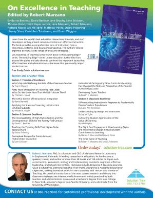 coaching classroom instruction marzano pdf