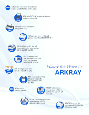 ARKRAY Product Brochure