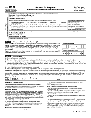 ... Copy Of A W9 - Fill Online, Printable, Fillable, Blank | PDFfiller