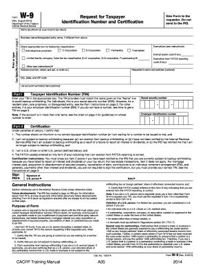 Fillable Online docs alsde Form W-9 (Rev. August 2013) - Alabama ...