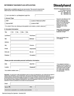 Restaurant asset purchase agreement form edit fill print steadyhand rsp application form steadyhand investment funds platinumwayz