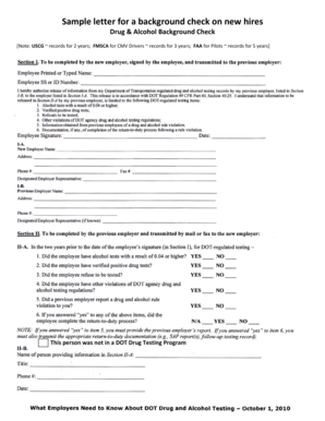 Sample Background check form - North Star Flotilla Website