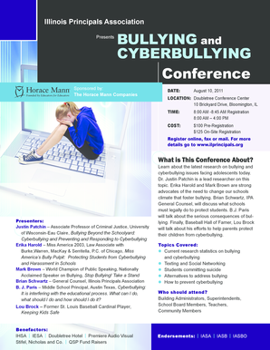 Aug. 10th IPA Cyberbullying Workshop Registration Information