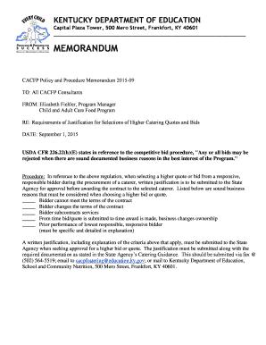 editable bid memo template fill out print download in word