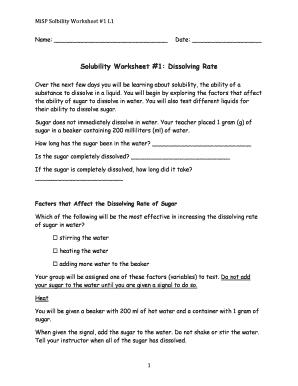 Solubility Worksheet Solubility Curves Worksheet Worksheets