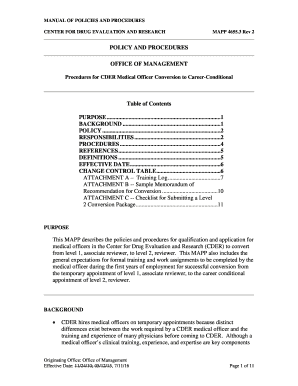 18 printable policy and procedure template for medical