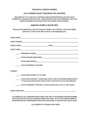 Fillable online 172 110 8 honeywell service memo 292 honeywell episcopal church women 2016 summer grant program fandeluxe Image collections