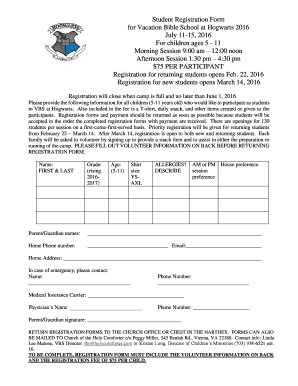 Fillable online 172 110 8 honeywell service memo 292 honeywell student registration form for vacation bible fandeluxe Image collections