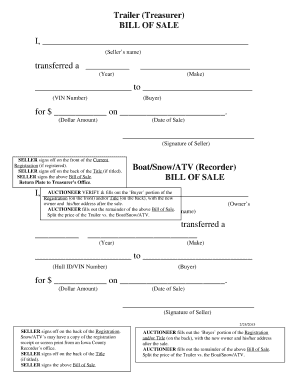 atv bill of sale atv bill of sale mn Forms and Templates - Fillable