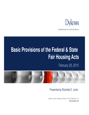 texas fair housing protected classes - Fill Out, Print