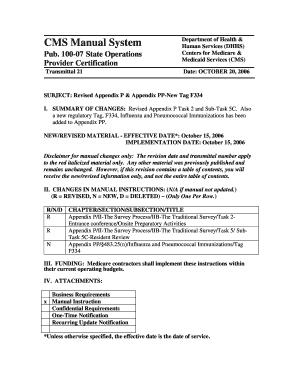 fillable online subject revised appendix p appendix pp new tag rh pdffiller com state operations manual appendix pp 2015 state operations manual appendix pp 2016