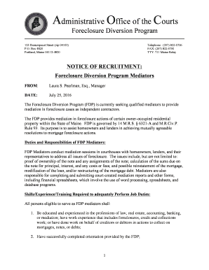 Foreclosure Letter Format