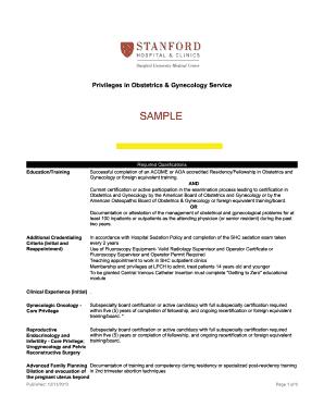 gynecologic history sample - Edit, Fill, Print & Download Online