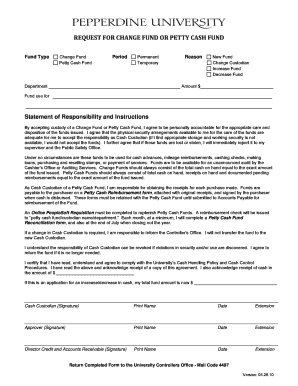 Editable petty cash requisition definition - Fill Out, Print ...