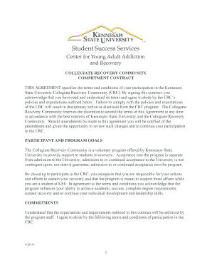 THIS AGREEMENT specifies the terms and conditions of your participation in the Kennesaw - studentsuccess kennesaw