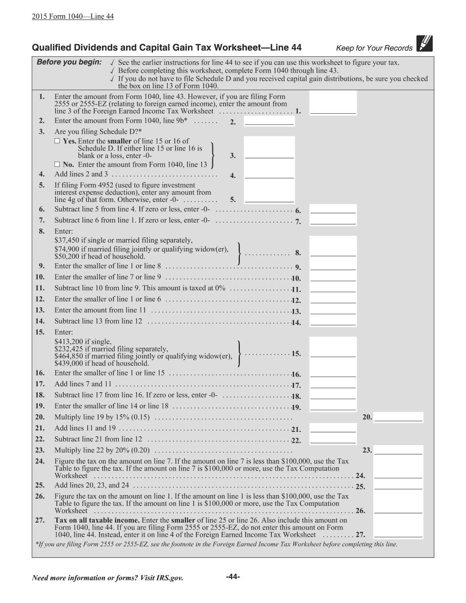 2017 1040 instructions