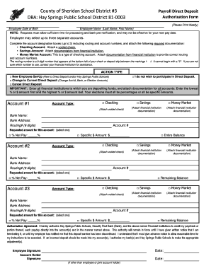 Fillable Online DIRECT DEPOSIT FORM - Required by All.xlsx ...