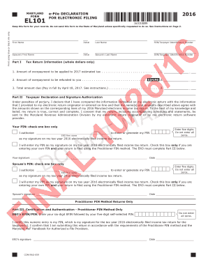 DO NOT MAIL - Maryland Tax Forms and Instructions