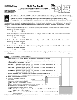 Child tax credit worksheet instructions 2013