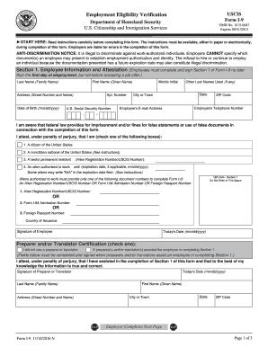 form i-9 2019 printable  6 Form USCIS I-6 Fill Online, Printable, Fillable, Blank ...
