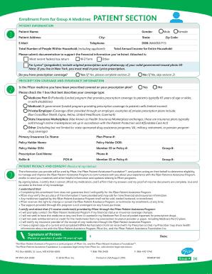 Fillable Online Pfizer Patient Assistance Program Fax Email Print ...
