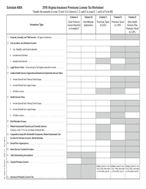 Printable Schedule d tax worksheet 2016 - Edit, Fill Out ...
