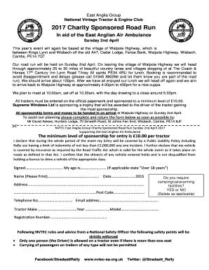 Fillable Online Nvtec Ea Org To Download A Road Run 2017 Entry Form Nvtec Ea Nvtec Ea Org Fax Email Print Pdffiller