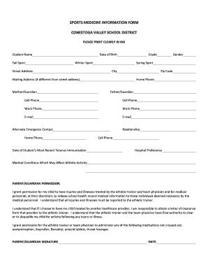 sports physical form pennsylvania  Fillable Online blog cvsd k16 pa 16-16 CV & PIAA sports ...
