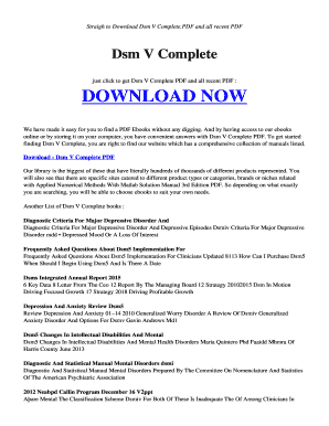 download dsm v pdf free