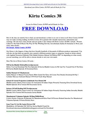 kirtu comics free pdf