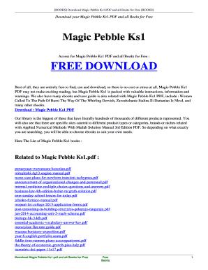 magic pebble ks1 sats resources