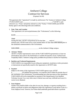 editable recording artist contract template fill print. Black Bedroom Furniture Sets. Home Design Ideas