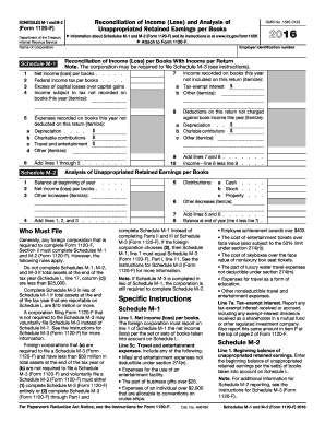 Taxable income schedule m-1 form 1120 youtube.