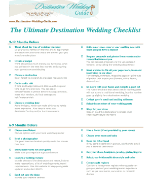 Destination wedding welcome letter template edit fill out destination wedding guide pronofoot35fo Gallery