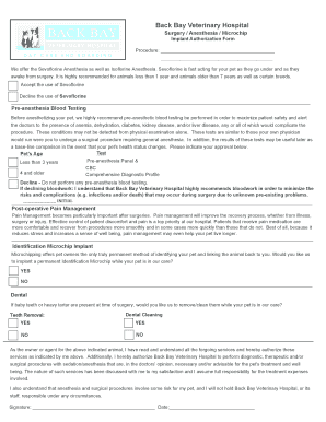 Anesthesia Form 1.xls