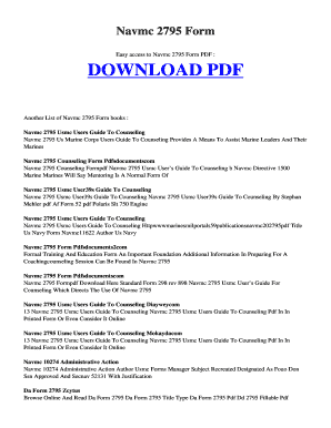 navmc 2795 Fillable Online tolife esy Free NAVMC 2795 FORM.PDF and Related ...