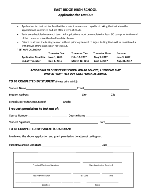 settlers high school application forms 2017
