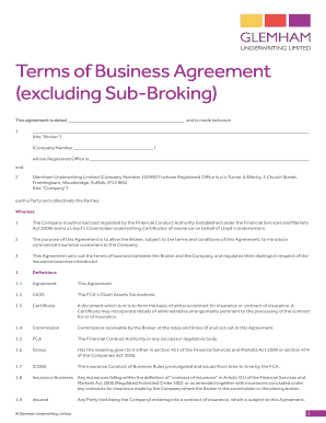 Business contract agreement between two parties Printable