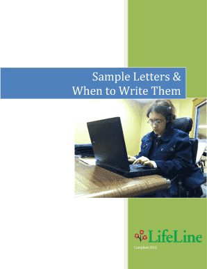 Sample Letters & When to Write Them - lifelinefamilies