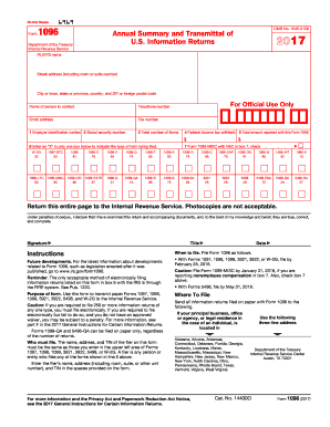 2017 Form IRS 1098 Fill Online, Printable, Fillable, Blank - PDFfiller