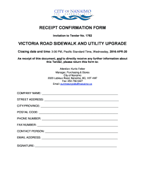 Fillable reply to tender invitation sample letter - Download Budget