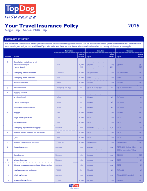 Annual Travel Insurance