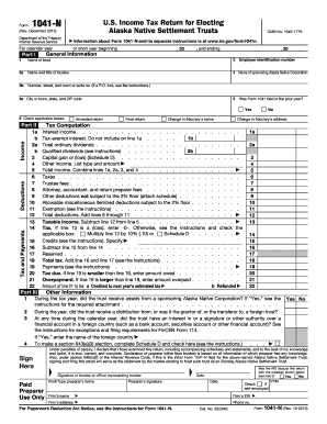 Form 1041-N (Rev. December 2015) - IRS.gov - irs