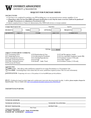Request for Purchase Order.doc - depts washington